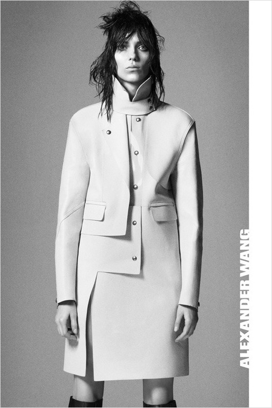 Kati Nescher for Alexander Wang Fall Winter 2012