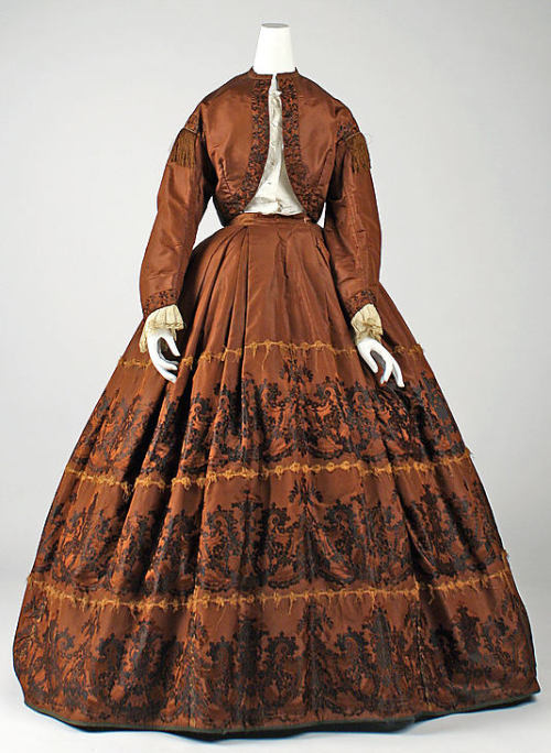 Dress 1860-1865 The Metropolitan Museum of Art