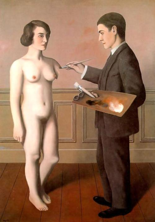 demonicdad:  Attempting the Impossible by Rene Magritte