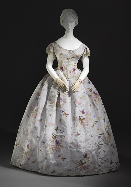 Dress 1865 The Los Angeles County Museum of Art
