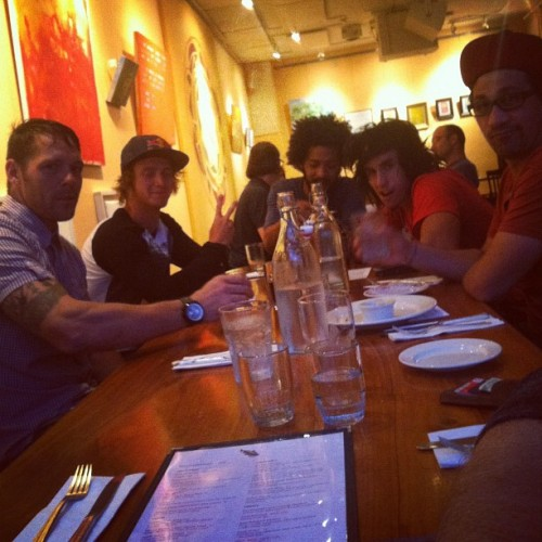Woodward dinner! #shadowwoodward  (Taken with Instagram)