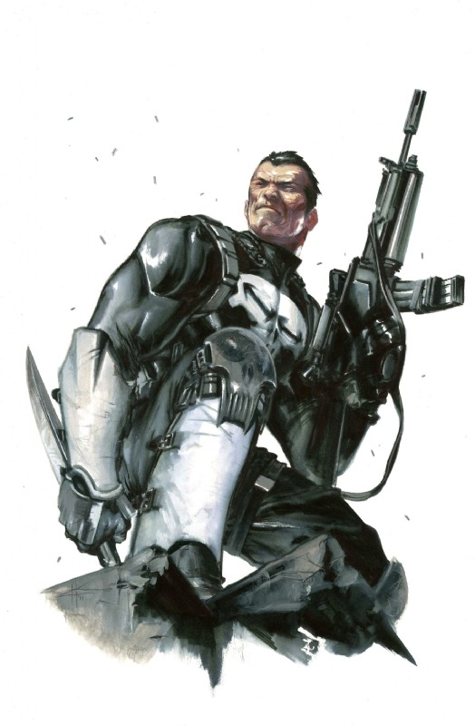 The Punisher by Gabriele Dell'Otto