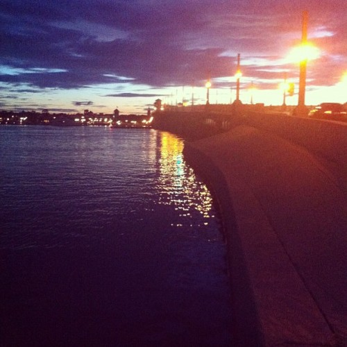 Sunset at the Bridge of Lions (Taken with Instagram)