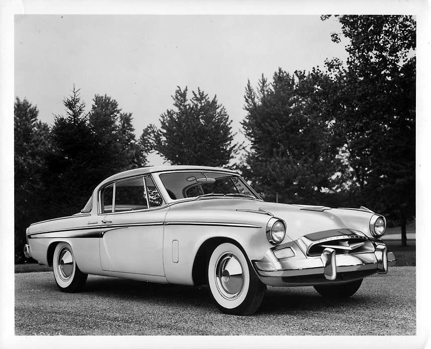 Studebaker President… 1955 Press Release photo