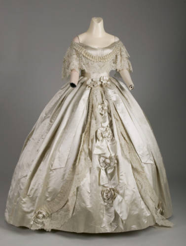 Dress Charles Fredrick Worth, 1861 The Chicago History Museum