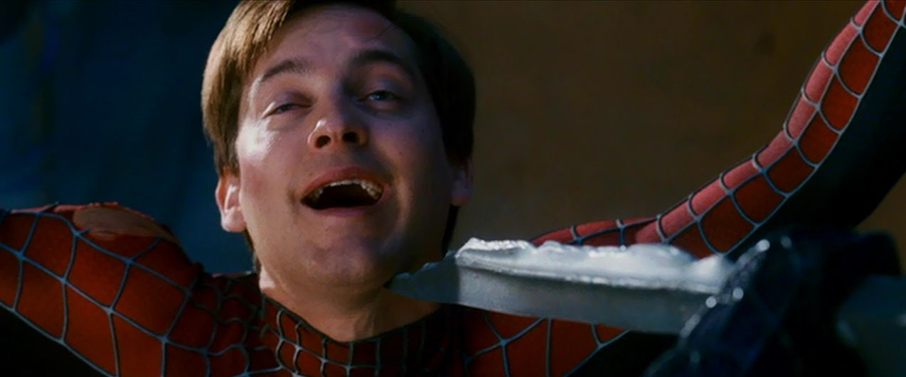 Tobey Maguire Looking ...