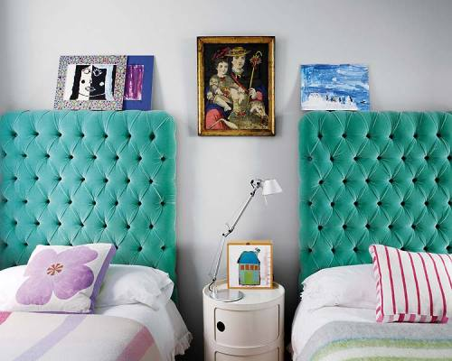 Tufted headboards  vintageluxe:  theaestate