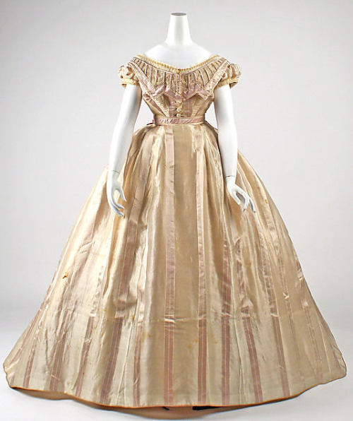Dress 1865 The Metropolitan Museum of Art