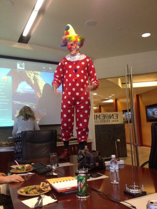 Who says corporate budget meetings can't be fun?  Keepin' it professional around here….~J   Ps. Phoenix heat blows. I really don't know how people exist here.