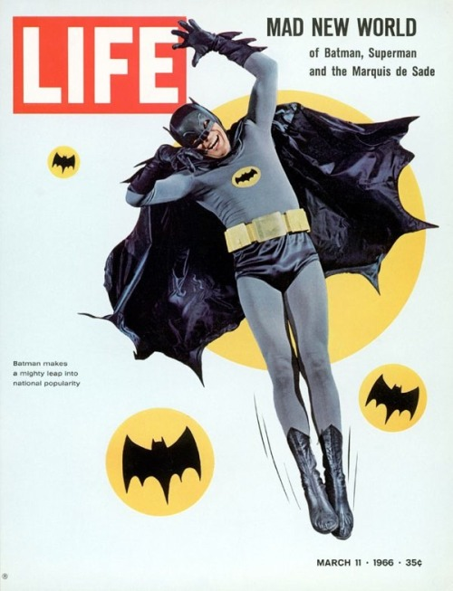 """Batman makes a mighty leap into national popularity."""