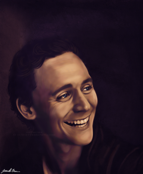 hatie123:  Tom Hiddleston by =sugarpoultry