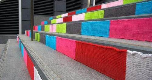 Guerilla Knitters Take Over Sydney! (via Those crazy artists. - Cool Like Pie)