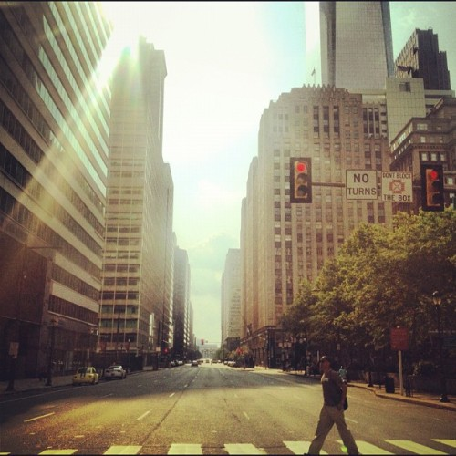 Philly can be just as pretty as NYC (Taken with Instagram)