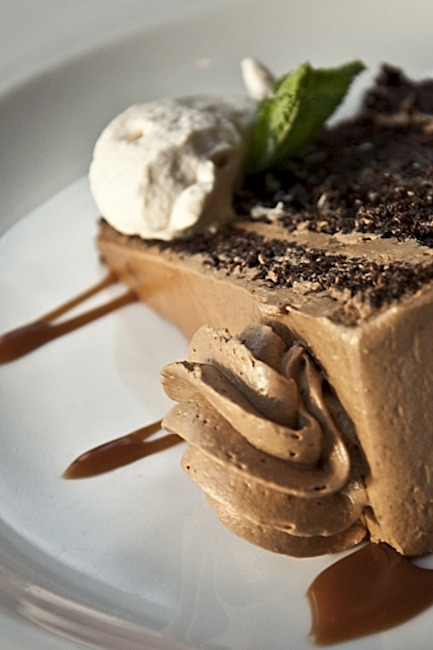 hushphotography:  Chocolate cake at Niagara Culinary Institute, in Niagara on the Lake, ON. ©HushPhotography