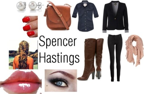 Spencer by mrs-shaun-anderson featuring a collared shirtAbercrombie & Fitch collared shirt / NW3 short jacket, $200 / Maison Martin Margiela 5 pocket jeans / Giuseppe Zanotti  boots / Madewell leather cross body bag / Vero Moda long scarve, $4.85