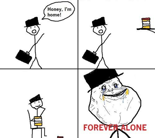 Forever Alone The Meme Spot