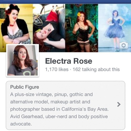 Check me out on Facebook, lots of fun to be had! Facebook.com/electrarosepinup #bodypositive #iamplus #plussize #plussizefashion #plussizemodel #redhead #sexy #curves #electrarose #confident #loveyourself (Taken with Instagram)