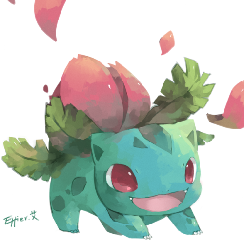 pokemonfourever:  Ivysaur by *Effier-sxy