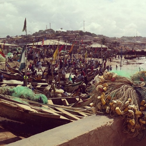 Cape Coast (Taken with Instagram)