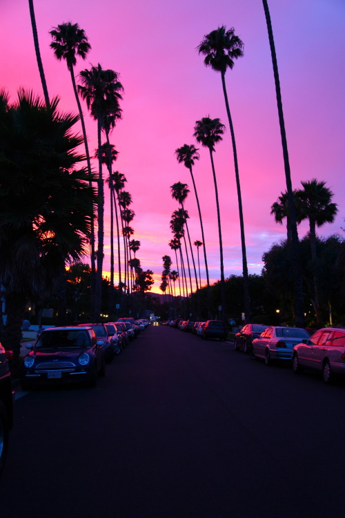 burningveins:  d-ohp:  California Sunsets :*  Beautiful