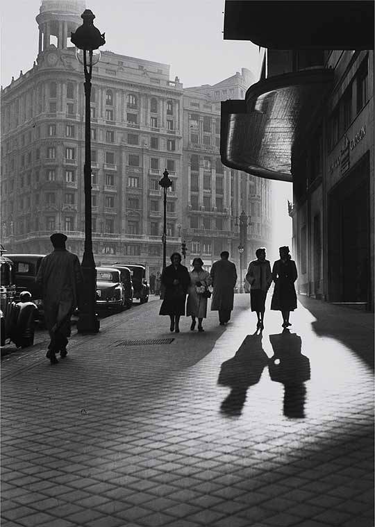 WantedSpain  Francesc Català Roca Gran Vía, Madrid, 1953 ( via afterthenight )