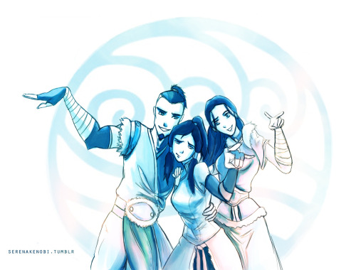 Water Tribe. I feel like Korra and Sokka would've been total buddies.