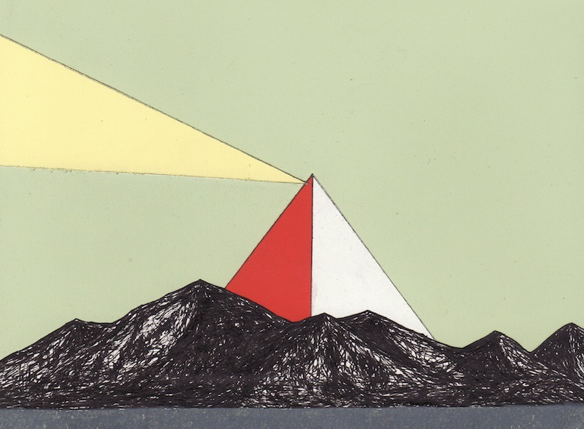 REDEEMER (LANDSCAPE WITH PYRAMID). 2010 Topher Mileski