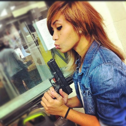 Make my day. 🔫👨 #shoot (Taken with Instagram)