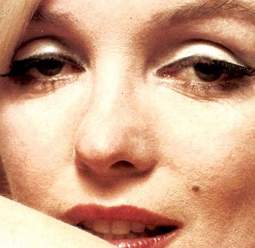 Marilyn Monroe portrait photograph from Bert Stern's The Last Sitting in 1962, some of the last photographs taken of Marilyn before her death.