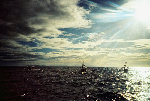 Fishermen by May Pamintuan Bohol, Philippines  Lomo LC-A+ Lomography X-Pro Chrome 100