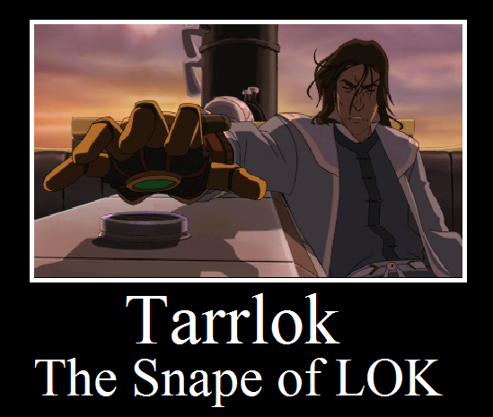 The Snape of LOK by ~I-wuv-Bolin 'Tis the truth.