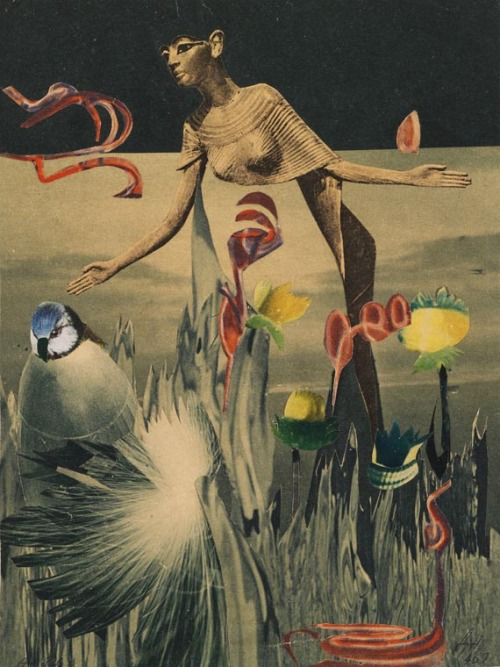 Hannah Höch - Am Nil (Collage, 1940)
