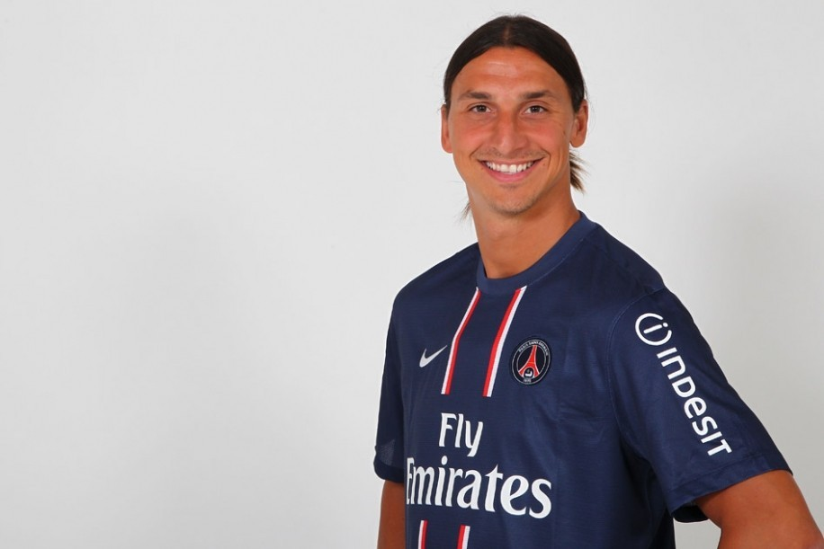 FOOTBALL: Swedish striker Zlatan Ibrahimovic has left AC Milan. Find out which club's kit he's wearing at the link