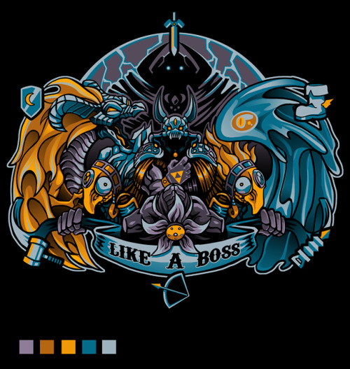 ianbrooks:  Like A Boss by Pertheseus Shirts and stickers available atRedbubble. Live your life like it's your last Heart.  Artist:DeviantArt/Tumblr