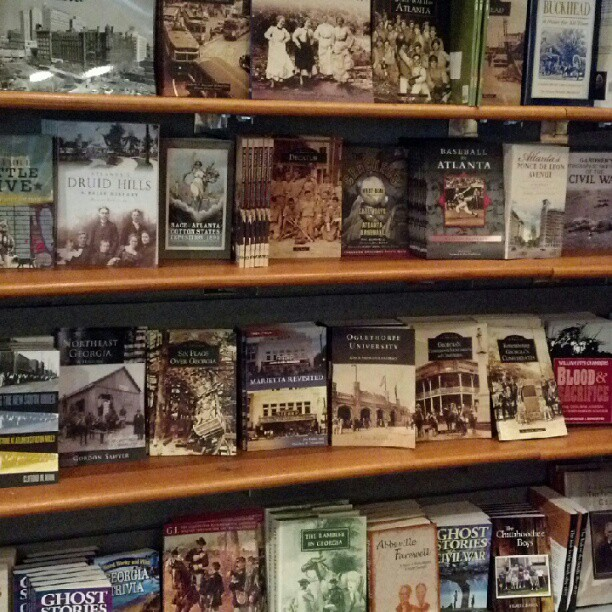 jenuhbelle:  Atlanta books. Historical books