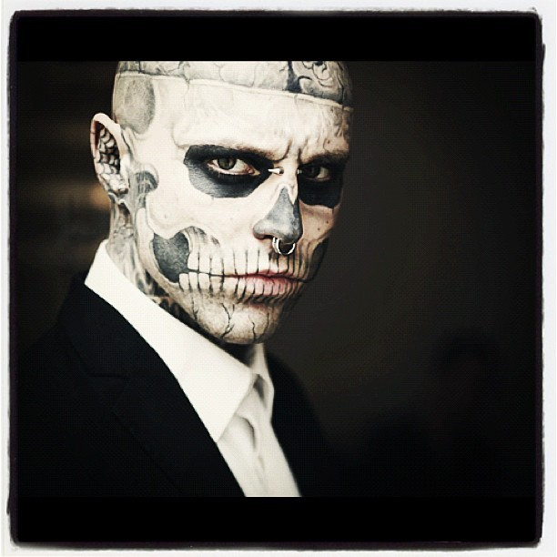 daviidmars:  #zombieman #zombie #fancy #tattoo (Taken with Instagram)