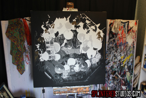 WORK IN PROGRESS - Neil Peart 'Rush' http://www.splinteredstudios.com