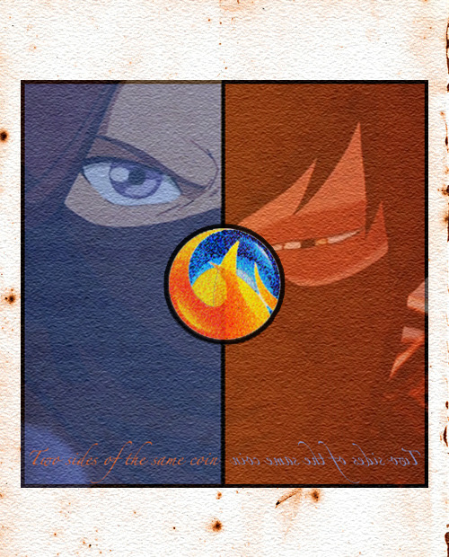 Two sides of the same coin  My contribution to Zutara Week. Inspired by this.
