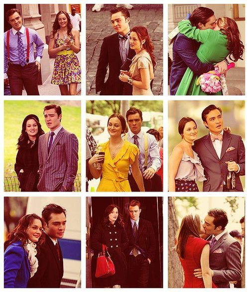 I love them =) Blair Waldorf and Chuck Bass… Gossip Girl..