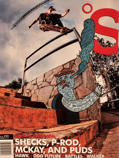 "The Skateboard mag X LB (N°81)""Wake me up"" Ryan Sheckler"