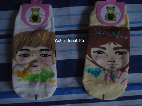SHINee socks - Onew and Key