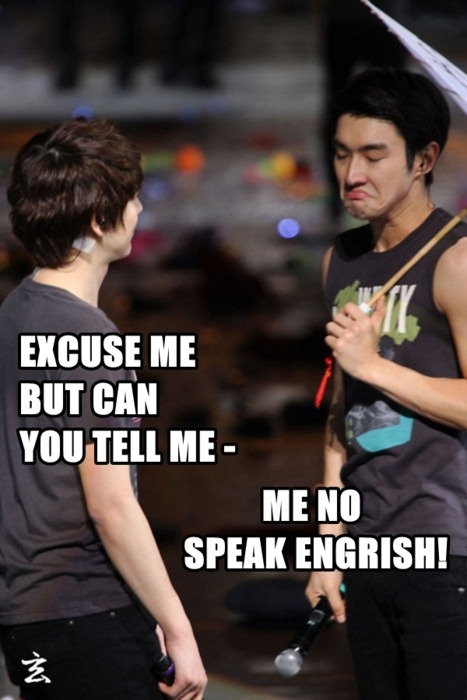Me no speak Engrish kkkkk