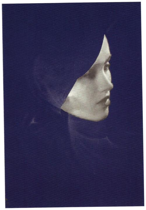 Joseph Cornell - Untitled [Mary Taylor by Lee Miller], c, 1932, 1970. … from Man Ray / Lee Miller : Partners in Surrealism by Phillip Prodger, Merrell Publishers Limited, 2011.