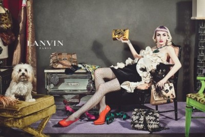 "Real people in super styled spaces, Lanvin Ads for Fall The creative director for Lanvin, Alber Elbaz is going with ""real people"" as opposed to professional models for the brand's fall ad campaign. Women and men, from 18 to 80, hailing from a wide spectrum of day jobs, from waiter to milliner, will model the new line, in super styled places."