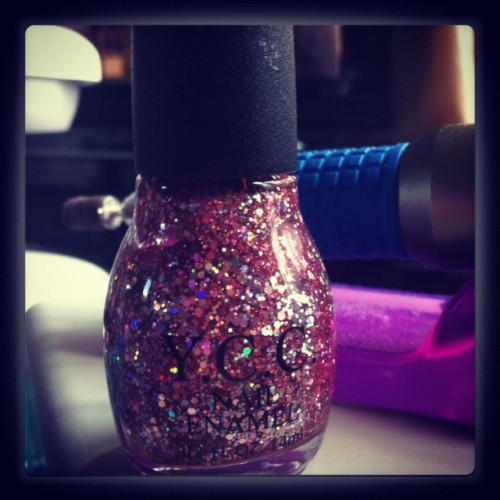 My favourite nail polish #nails #nailart #bling #glitter #sexy (Taken with Instagram)