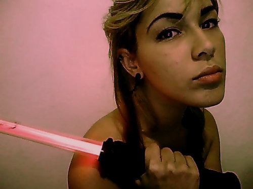 I tread a midst the Sith on the DARK SIDE..