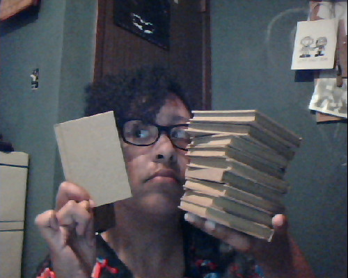 bullock-holmes:  Okay, kids. I got ten (TEN) of these mini journals! And I am willing to customize them for you! For a price… (evil laugh) So! These babies are 3in x 4in, 55 lined pages, and hardcover in beautiful craft brown.   They are extra cute. Just look at these journals I customized! Now, be warned. If you want a certain someone drawn, I will need references and such. Email me at kr_mccormick@yahoo.com with all the references and such. I will be needing those, or you might not like what I draw D: Each custom journal is $10. You can easily donate through Paypal for payment. And this includes shipping expenses. So, it's pretty much a golden offer. I'm just saying! Remember, I got ten of these babies. Let's go!