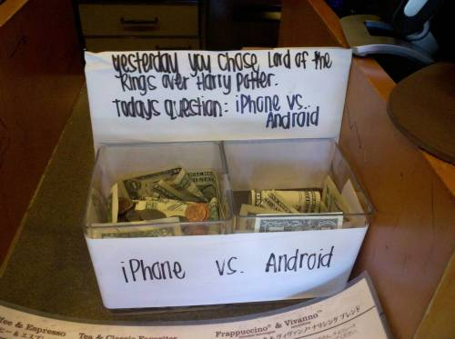This is by far the best way to gather tip money.