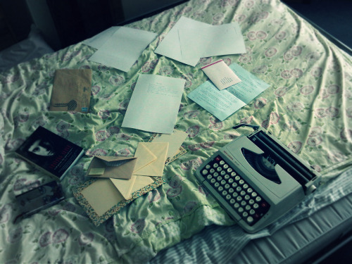 Give a girl like me a typewriter, and this is bound to happen.