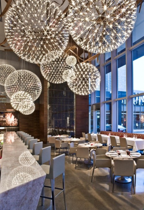 Aria Restaurant by Urszula Tokarska / Stephen R. Pile Architect via www.contemporist.com